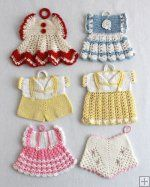 Pansy Kitchen Set Crochet Pattern Crochet Pattern Pansy Kitchen Set [PB030] - $6.39 : Maggie Weldon, Free Crochet Patterns