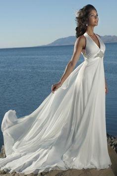 Older bride over 40 and brides on pinterest for Beach wedding dresses for older brides