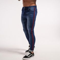 Skinny Men Blue Tape Classic Tight jeans is modern and robust fashion jeans fit for your every fashion. Comfortable all day wear jeans available in multiple colours including blue and black. Mens Stretch Skinny Jeans, Mens Distressed Skinny Jeans, Slim Fit Ripped Jeans, Super Skinny Jeans, High Jeans, Stretch Denim, Skinny Pants, Biker Jeans, Jeans Denim