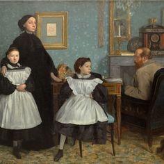 Edgar Degas's Family portrait also called The Bellelli family
