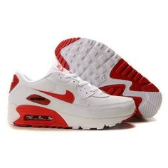 sport nike air max 90 vt hommes leather tn red white