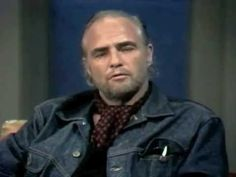 Marlon Brando interview after 1973's oscar.  You might need the context, which was made during the Oscars after Brandos victory for The Godfather.