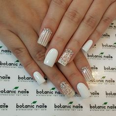 « Tina you are amazing! Tape Nail Art, Gel Nail Art, Acrylic Nails, Fabulous Nails, Gorgeous Nails, Pretty Nails, Ongles Beiges, Hair And Nails, My Nails