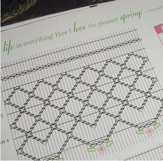 Free Smocking Patterns to Print | williamsburg smocking6