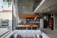 Bringing the Outside In - Urban Home in Sao Paolo