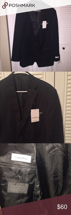 Calvin Klein suite jacket new with tags Beautiful Calvin Klein sport jacket  Size 42 long / 36 wide Calvin Klein Suits & Blazers Sport Coats & Blazers