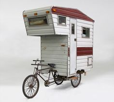 The Smallest Homes on Earth - Camper Bike