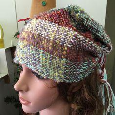 Newest Creations! Handwoven Japanese Saori Style Hats!