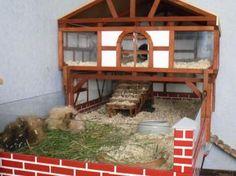 Ein Palast für #Meerschweinchen aus #Holz. Tipps und die #Bauanleitung auf http://www.1-2-do.com