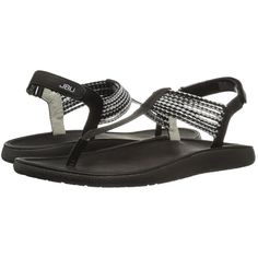 55b792994 JBU Yasmin (Black Silver) Women s Sandals ( 59) ❤ liked on Polyvore