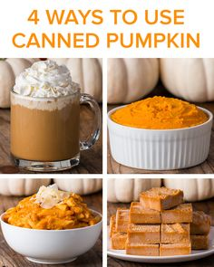 4 Ways To Use Canned Pumpkin by Tasty