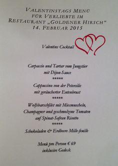 https://flic.kr/p/qfE315   Goldener Hirsch Restaurant Valentinsmenu