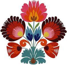 Wycinanki - Polish Paper art - gorgeous colors!     via Inspire Bohemia