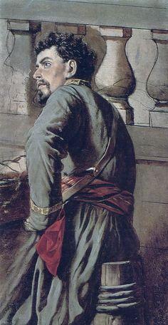 Vasily Perov - Cossack, 1873.