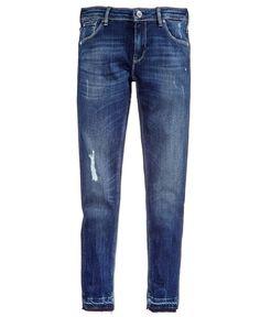 Guess Released Hem Distressed Skinny Jeans, Big Girls (7-16)