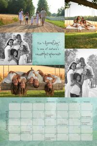 New 2013 Collage-style calendar templates are here! Calendars are ON SALE in October from Creative Memories.