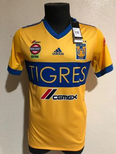 8ddf3186410 Tigres 2017 All New Jersey!! Home Jersey!! League  Liga MX Team