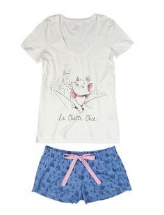 women'secret | Lots of fun | Disney Sketch | The Aristocats short cotton pyjama