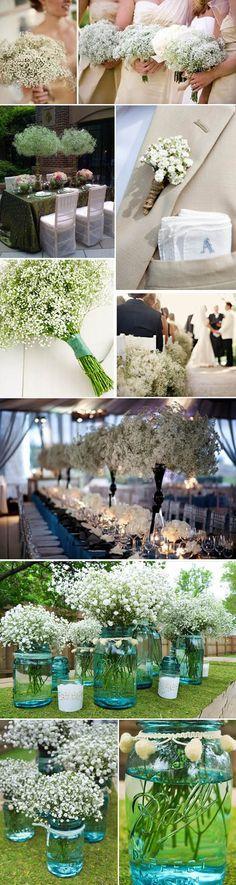 decoracao casamento gypsophila : decoracao casamento gypsophila:Casamento Gypsophila no Pinterest