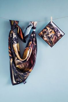 MEMO Iceland Silk Scarf MEMO Iceland specialises in design of modern silk scarv… - Seiden Schals Scarf Packaging, Scarf Display, Bandana, Fabric Photography, Scarf Design, Mode Hijab, Silk Painting, Textiles, Green Fabric