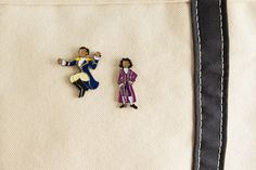 """Thomas Jefferson's coming home! Inspired by the Broadway musical Hamilton, this soft enamel pin features Daveed Diggs as Thomas Jefferson in """"What"""