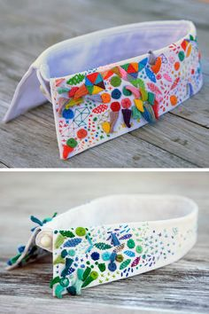 Hand embroidered collars by Senorita Lylo #embroidery