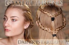 Game Of Thrones Daenerys Targaryen Make-Up Tutorial How to apply your Make-Up to look like Daenerys Targaryen from Game Of Thrones http://youtu.be/jdEY19iOcfU