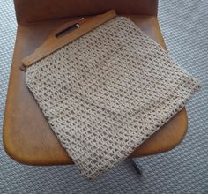 Macramé vintage purse by thecoifs on Etsy