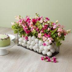 Делаем сами: цветочные композиции к Пасхе