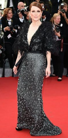 The Best of the 2015 Cannes Film Festival Red Carpet - Julianne Moore from #InStyle