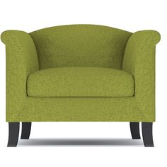 Apt2B Albright Green Apple Chair ($858) ❤ liked on Polyvore featuring home, furniture, chairs, accent chairs, wood chair, wooden chairs, wooden accent chairs, wooden furniture and wood furniture