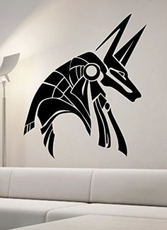 Egyptian God Anubis Wall Decal Vinyl Sticker Art Home Decor Egypt Acient State Of The Wall
