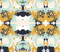 abstract - tinsley fabric by charlottewinter on Spoonflower - custom fabric
