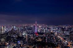 都市という名のアート。日本一高い展望台から見る東京の夜景