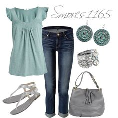 """""""Soft Spring Style"""" by smores1165 on Polyvore"""