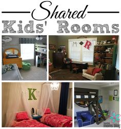 Shared Kids' Rooms | Houston Moms Blog {Ideas and inspiration for boy rooms, girl rooms, and boy/girl rooms!}