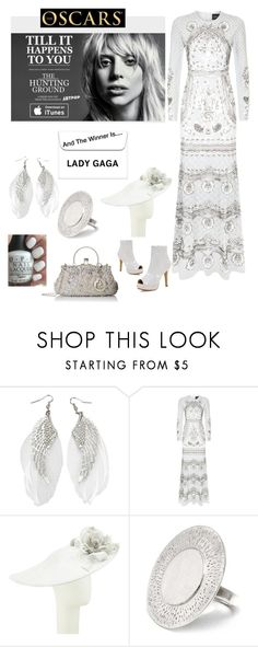 """""""Lady Gaga for best original song;til it happens to you"""" by im-karla-with-a-k ❤ liked on Polyvore featuring Needle & Thread, NIGEL RAYMENT and NOVICA"""