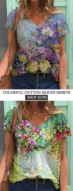 Womens Fashion Online, Latest Fashion For Women, Fashion 101, Plus Fashion, Cool Outfits, Casual Outfits, Casual Tops For Women, Blouse And Skirt, Floral Fashion