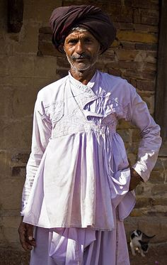 White cotton Rabari jacket, Gujarat or Rajasthan