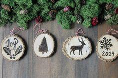 Rustic wood ornament lifestyle 4