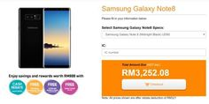 U Mobile offers the Galaxy Note8 from RM2108 with unlimited data for video music and social  U Mobile is also offering the Samsung Galaxy Note8 on contract starting today and it comes with the same pre-order goodies from Samsung Malaysia. Retailing at RM3999 the Galaxy Note8 is offered from as low as RM2108 with 24-months contract on their Ultimate Device plans.  Below is the bundled pricing for the Galaxy Note8 during the pre-order period which starts today until 10th September:  Ultimate…