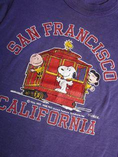 d365a177f Peanuts Gang in San Francisco. Caren CollectPeanuts.com · Peanuts Vintage  Tees