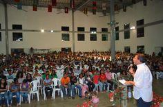 Tadeu Palácio realiza reunião na Igreja Batista do Angelim