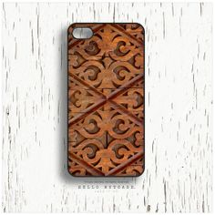 iPhone 5 Case Wood Print iPhone 5s Case Chevron by HelloNutcase, $19.00