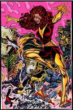 Dark Phoenix vs. X-Men by John Byrne