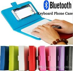 Bluetooth Keyboard Phone Case For IPhone 6 6S Leather Case with Wireless Keyboard for Lenovo Samsung Huawei Xiaomi ZTE Sony HTC Bluetooth Keyboard Leather Case Phone Cover Online with 18.58/Piece on Hellenhe2016's Store | DHgate.com