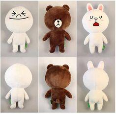 LINE doll - 3 sets
