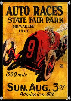 Click to find out more about Milwaukee State Fair 1913 Racing Mural