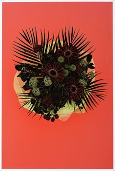 Cathy Tuato'o Ross, 'Remorse' from the series Reasons (2014)            Gouache,  giclee photograph on cotton rag   http://www.photospacegallery.com/2014---cathy-tuatoo-ross.html