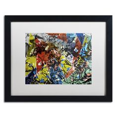 'Popularity Everyone is Doing It' by Dan Monteavaro Framed Graphic Art